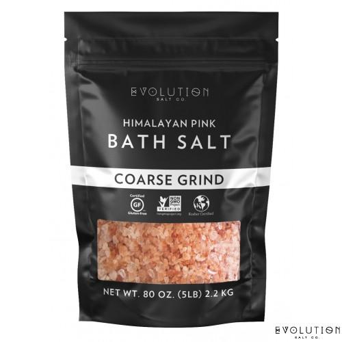 Himalayan Bath Salt - Coarse Grind 5 lbs