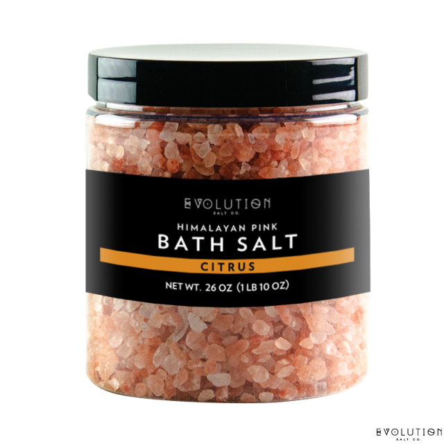 Himalayan Bath Salt Coarse - Citrus