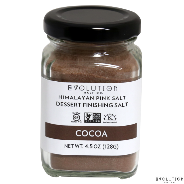Himalayan Pink Dessert Finishing Salt - Cocoa