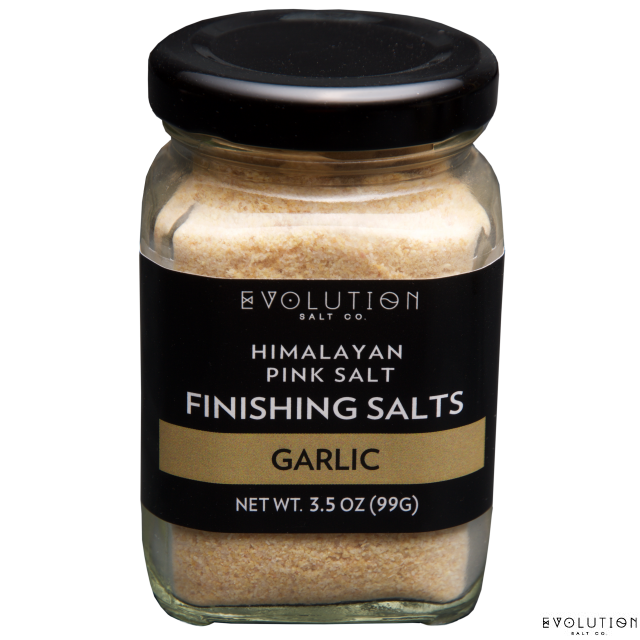 Himalayan Pink Salt Finishing Salt - Garlic