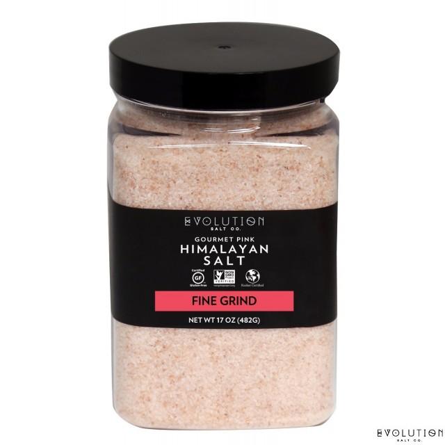 Himalayan Salt Fine Grind 17 oz