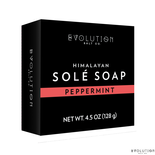 Peppermint Sole Bath Soap