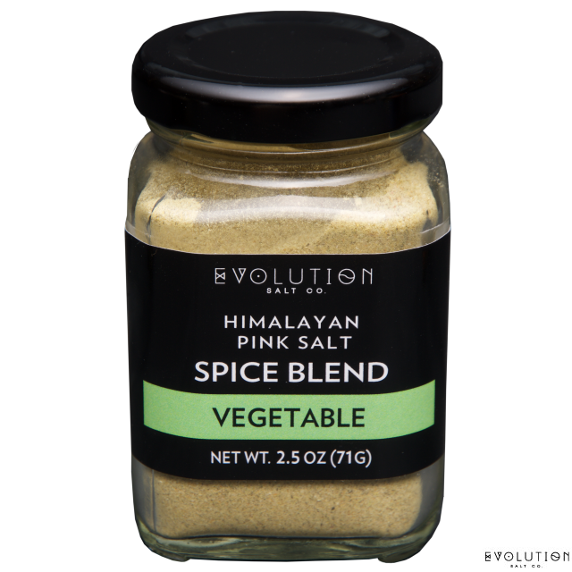 Himalayan Pink Salt Spice Blend - Vegetable