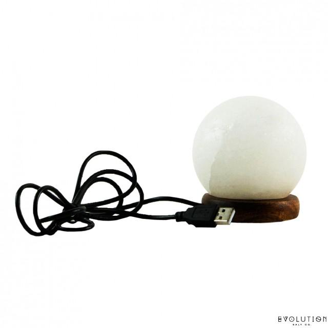 USB Sphere Lamp Multi Color Changing :: SHOP EVOLUTION SALT - Himalayan Salt Himalayan Salt ...