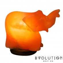 Elephant Crystal Salt Lamp