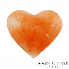 Heart Crystal Salt Stone Small