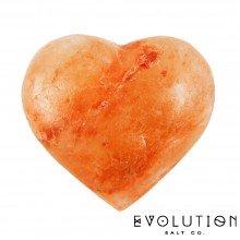 Heart Crystal Salt Stone