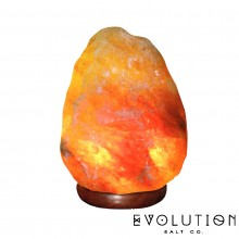 Natural Crystal Salt Lamp 20-25 lbs