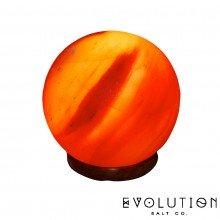 "Sphere Crystal Salt Lamp 6"""