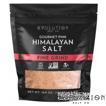 Himalayan Pink Salt Fine Grind 10 lbs
