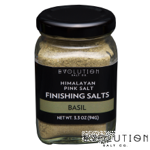 Himalayan Pink Salt Finishing Salt - Basil