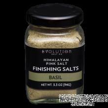 Himalayan Pink Salt Finishing Salt - Basil