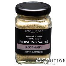 Himalayan Pink Salt Finishing Salt - Rosemary