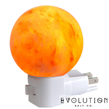 Himalayan Salt Night Light, Sphere