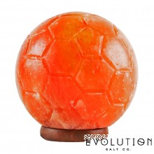 Soccer Ball Crystal Salt Lamp